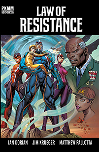 Law of Resistance Graphic Novel Cover